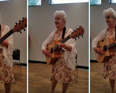 90-Year-Old Grandma Sings Hilarious Version Of Patsy Cline Hit Dedicated To Seniors 7