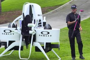 This Golf Cart Jetpack Looks Like It's Straight Out Of The Future 10