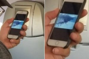 Plane Passenger Caught Fellow Traveller Watching 9/11 Footage Moments Before Take-Off 10