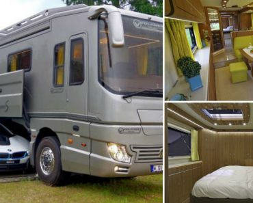 A $1.7-Million RV With Its Own Car Carrier Underneath 5