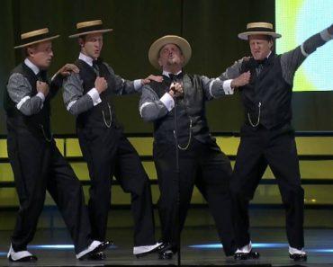 Barbershop Quartet Performs Perfect Famous Pop Songs Medley 8