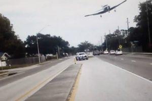 Dashcam Captures Plane's Crash Landing On Busy Florida Road 10