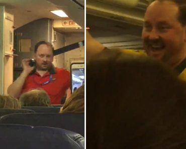 """Flight Attendant Does Hilarious """"Sexy"""" Safety Demonstration 9"""