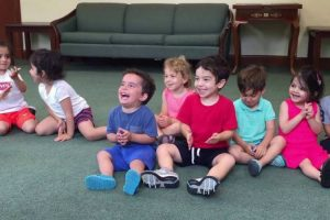Little Boy's Contagious Laugh In Music Class Will Brighten Your Day 12