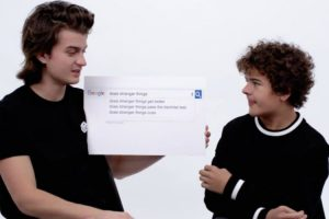 Stranger Things Cast Answer the Web's Most Searched Questions 11