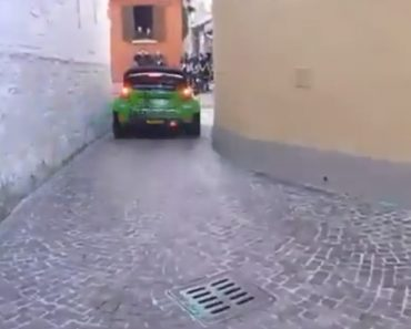 The Most Narrow Rally Passage, Which Is A Nightmare For Rally Drivers 9