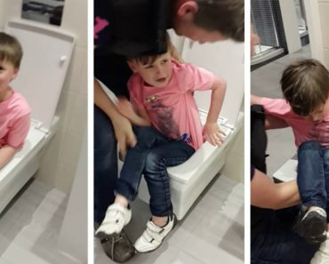 """Unruly' Boy, 6, Gets Stuck In Showroom Display Toilet – While """"Giggling"""" Mum Films Him 9"""