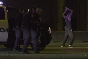 Dance Party! Suspect Shows Off His Moves At End Of Chase 12