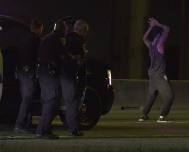 Dance Party! Suspect Shows Off His Moves At End Of Chase 3