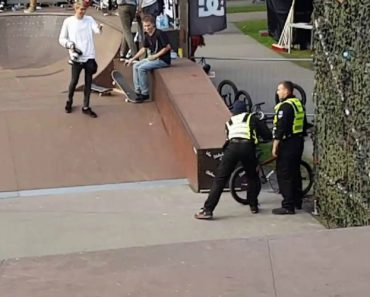 BMX Rider Doesn't Listen To Security - Gets Taught Important Lesson! 4