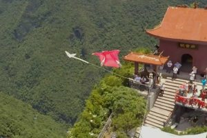 Wingsuit Pilot Jumps From Helicopter And Hits A Target At 120 Mph 12