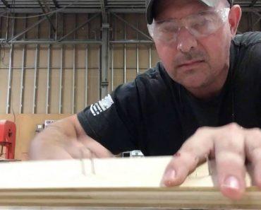 Carpenter Pulls Stapled Finger Prank on Co-Worker 7