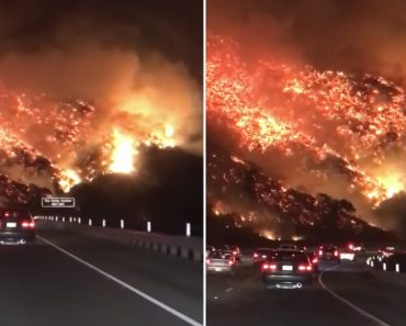 This Video Of Los Angeles Wildfire Looks Literally Like Hell On Earth 2