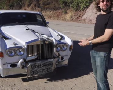 This Might Be The Worlds Craziest Rolls Royce Shadow 3