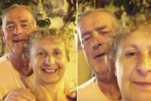 Adorable Irish Couple Tries To Take A Selfie 10