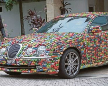 Guy With Too Much Time And Money On His Hands Decorates His Jaguar S-Type With Hot Wheels 8
