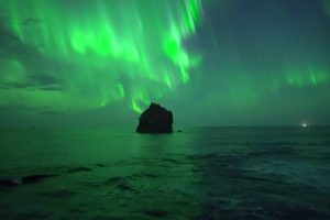 Spectacular Drone Footage Captures Northern Lights Over Iceland 10