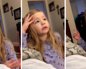 Little Girl Scolds Her Dad About The Toilet Seat! 1