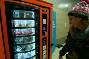 First Free Vending Machine Provides Essentials For The Homeless 11