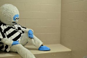 Abominable Snowman Booked on DUI Charge 11