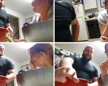 Father-To-Be Films Hormonal Pregnant Wife's Hilarious Reaction To Him Putting Vegetables In Bag 1