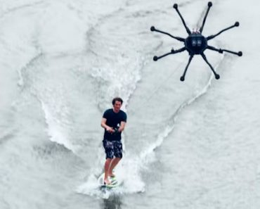 "A New Sport Is Born....""Drone-Surfing"" 3"