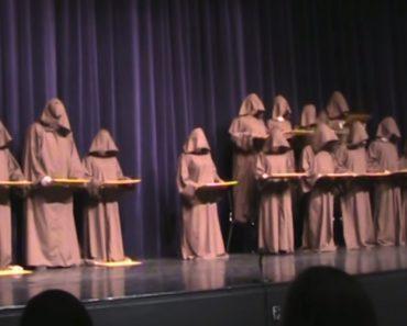 Silent Monks Performance of Hallelujah Chorus Is An Entertaining Treat 7