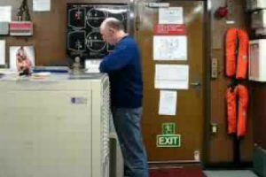 Coworkers Lose It After This Guy Falls For The 'Breath Test' On A Ship 10
