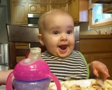 It's Literally Impossible Not To Start Laughing When You Hear This Baby's Unique Giggle 4