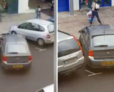Woman Makes Huge Parking Fail As Crowd Gathers To Watch Her Baffling Attempt To Drive Into A Space 7