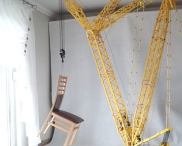 This Towering 24-Foot Lego Crane Can Actually Move This Guy's Furniture Around 7