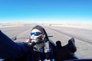 Hot Stuff Struck from Behind During Air Race Start 12