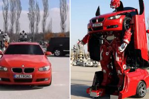 Turkish Engineers Just Made A Real-Life Driveable BMW Transformer 12