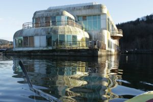 This Floating McDonald's Has Been Abandoned For Nearly 30 Years 12