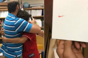 Student Surprises Teacher With The Shoes He's Always Wanted 12
