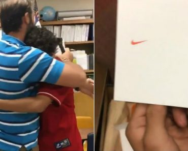 Student Surprises Teacher With The Shoes He's Always Wanted 5