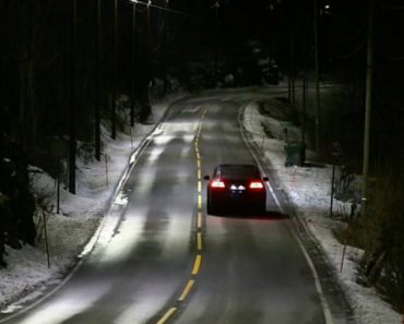 Auto-dimming Street Lights Detect Oncoming Traffic In Norway 6