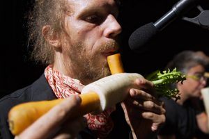 The Vegetable Orchestra Literally Plays with Their Food 11