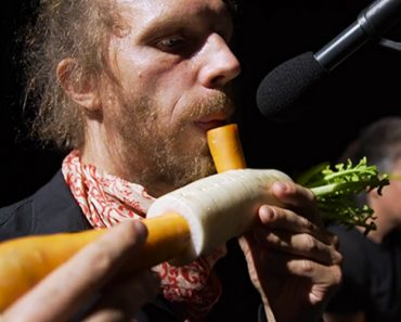 The Vegetable Orchestra Literally Plays with Their Food 1