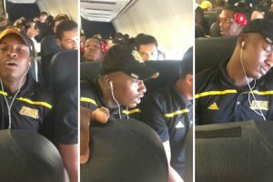 College Football Player Freaks Out On And Passes Out During First Flight On First Road Trip 12