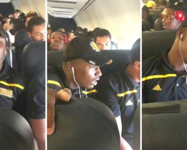 College Football Player Freaks Out On And Passes Out During First Flight On First Road Trip 9