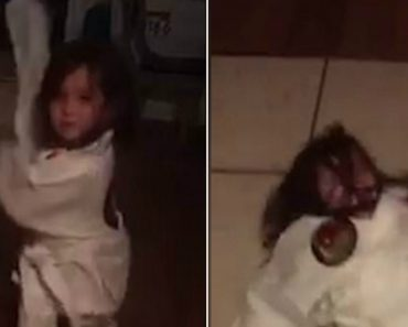Little Girl Talks Big About Her Martial Arts Moves… Then Shows Them Off And Ends Up Flat On Her Back 1