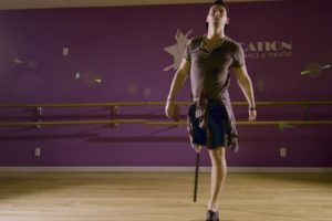 Making Moves With a One-Legged Tap Dancer 11