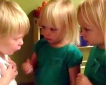 Toddler's Hilariously Dramatic Overreaction As He Rows With His Little Friends Over The Weather 8
