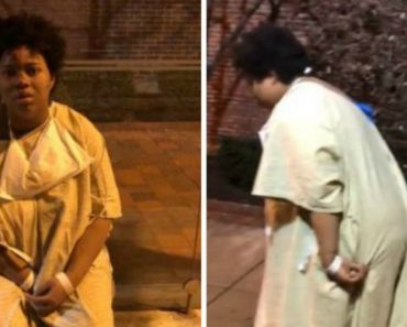 Video Shows Discharged Patient Outside Of Hospital In Only Gown On Frigid Night In The Cold On The City's Bus Stop 6