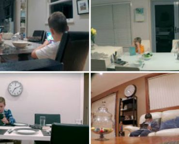 Watch These Ipad-Obsessed Kids Not Even Notice Their Parents Were Replaced With Strangers 2