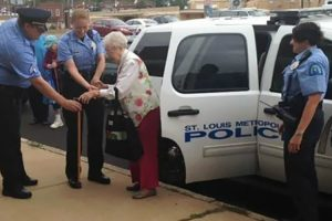 102-Year-Old Gets Herself Arrested For Her Bucket List 11