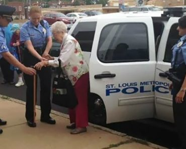 102-Year-Old Gets Herself Arrested For Her Bucket List 8