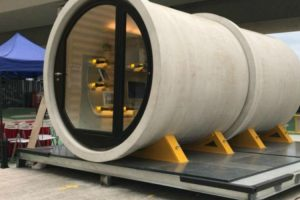 Would You Live In A Concrete Water Pipe? Check Out These Stylish Micro Houses. 12