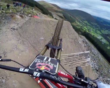 Insane Downhill POV Ride With Dan Atherton 7